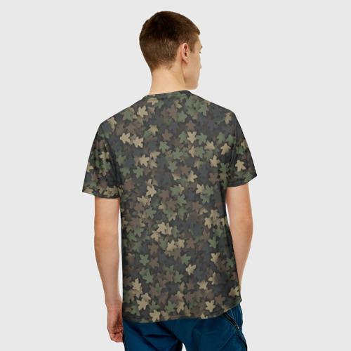 Мужская футболка 3D  Фото 02, Камуфляж с миплами
