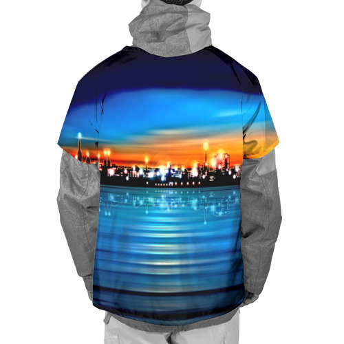 Накидка на куртку 3D  Фото 02, Вечерний город