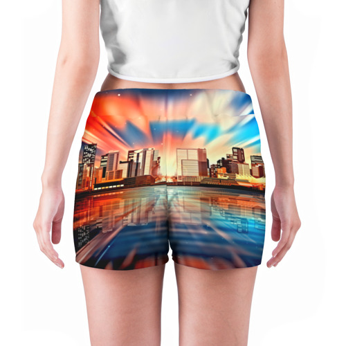 Женские шорты 3D  Фото 04, Day in Town