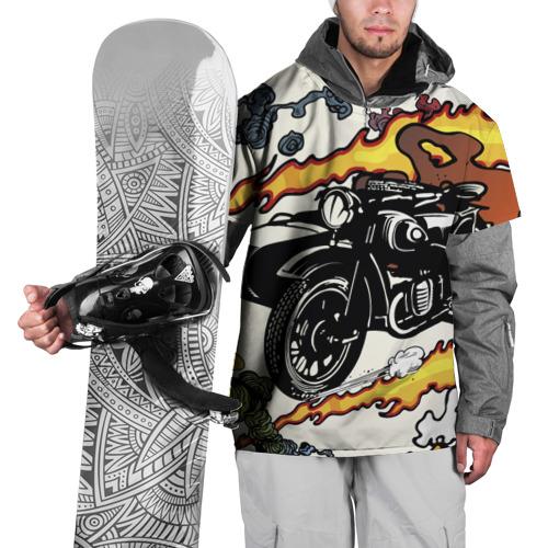 Накидка на куртку 3D  Фото 01, Мотоцикл