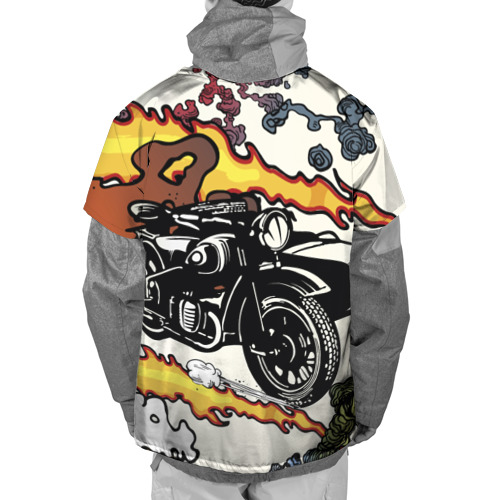 Накидка на куртку 3D  Фото 02, Мотоцикл