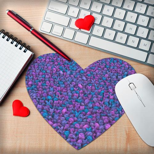 Коврик для мыши сердце  Фото 02, Загадочные совы