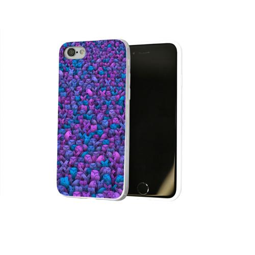 Чехол для Apple iPhone 8 силиконовый глянцевый  Фото 02, Загадочные совы