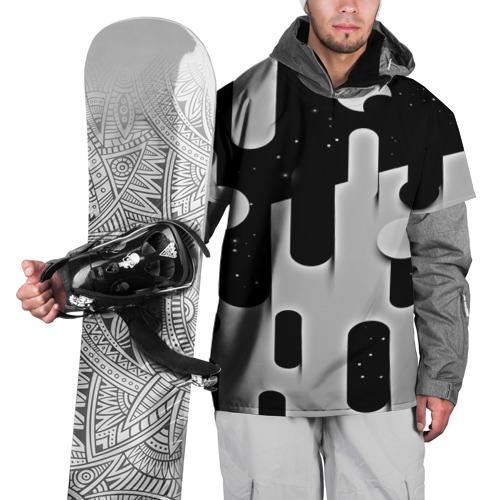 Накидка на куртку 3D  Фото 01, Фигуры иньян