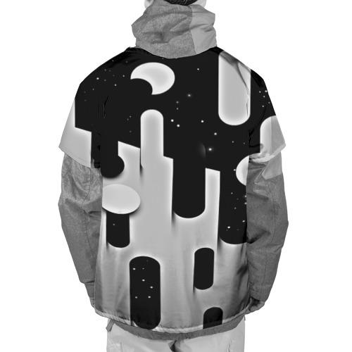Накидка на куртку 3D  Фото 02, Фигуры иньян