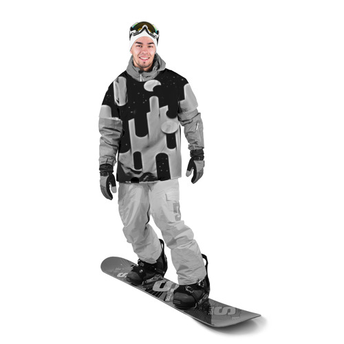 Накидка на куртку 3D  Фото 03, Фигуры иньян