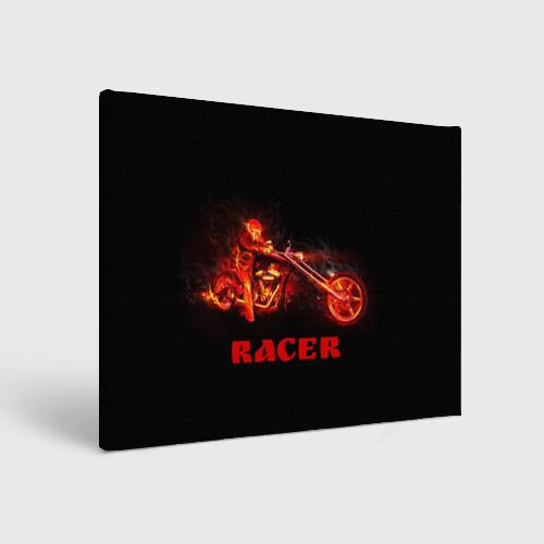Холст прямоугольный  Фото 01, Racer (гонщик)