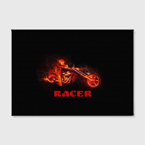 Холст прямоугольный  Фото 02, Racer (гонщик)