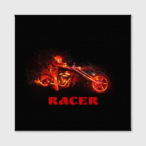 Холст квадратный  Фото 02, Racer (гонщик)