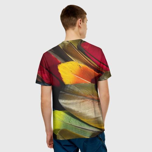 Мужская футболка 3D  Фото 02, Перья