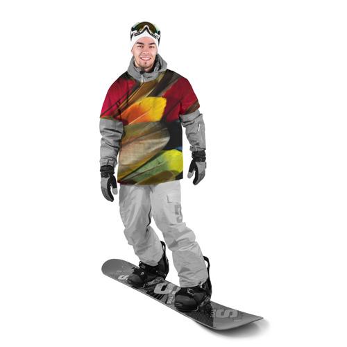 Накидка на куртку 3D  Фото 03, Перья
