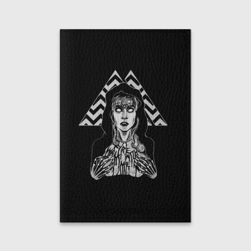 Обложка для паспорта матовая кожа Twin Peaks Фото 01