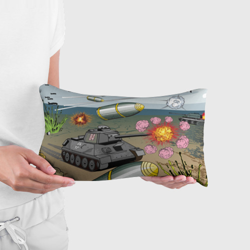 Подушка 3D антистресс  Фото 03, Танк