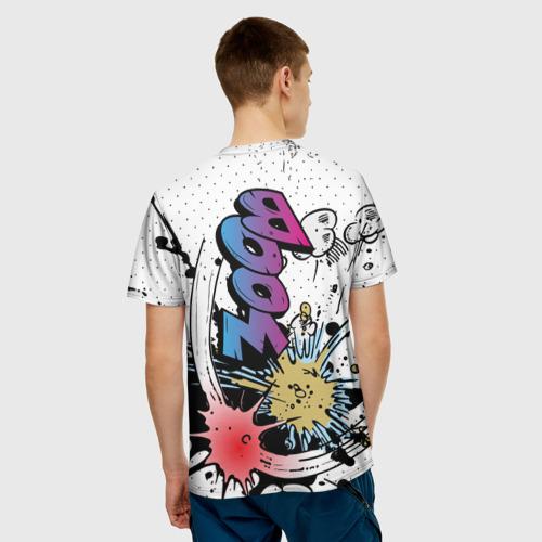 Мужская футболка 3D  Фото 02, Взрывы