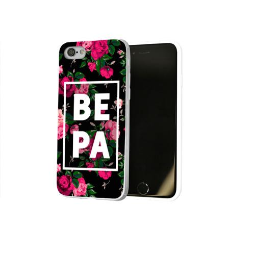 Чехол для Apple iPhone 8 силиконовый глянцевый  Фото 02, Вера