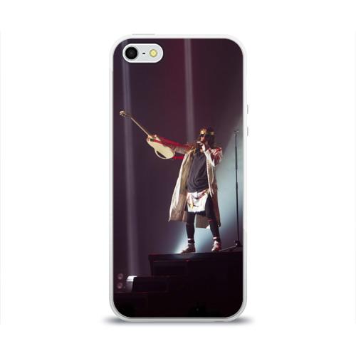 Чехол для Apple iPhone 5/5S силиконовый глянцевый  Фото 01, The King