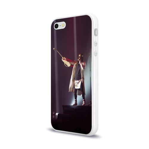 Чехол для Apple iPhone 5/5S силиконовый глянцевый  Фото 03, The King