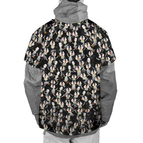 Накидка на куртку 3D  Фото 02, Дурацкие пингвины