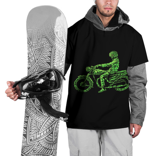Накидка на куртку 3D  Фото 01, Motorcycle