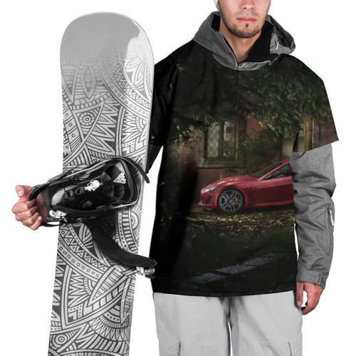 Накидка на куртку 3D  Фото 01, Авто возле дома