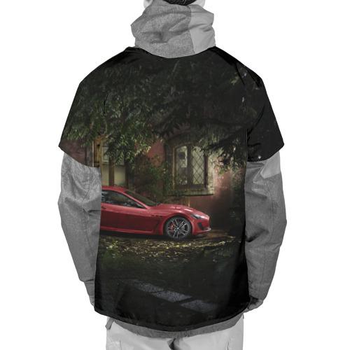 Накидка на куртку 3D  Фото 02, Авто возле дома