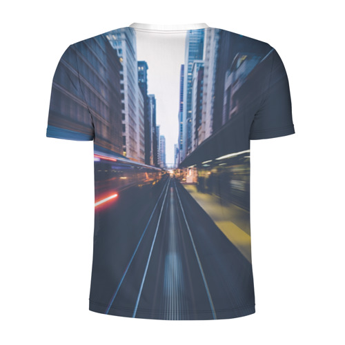 Мужская футболка 3D спортивная  Фото 02, New York