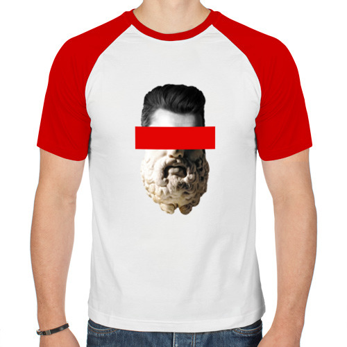 Мужская футболка реглан  Фото 01, Совмещение