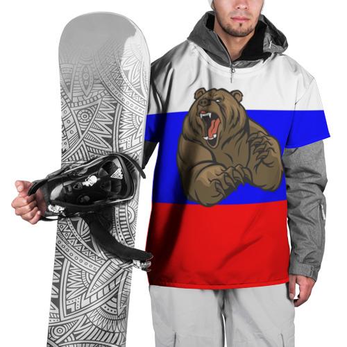 Накидка на куртку 3D  Фото 01, Медведь