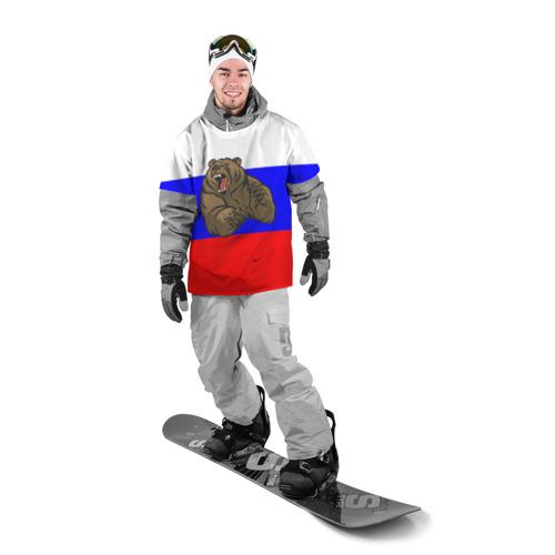 Накидка на куртку 3D  Фото 03, Медведь