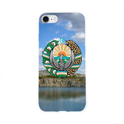Чехол для Apple iPhone 8 силиконовый глянцевый  Фото 01, Узбекистан