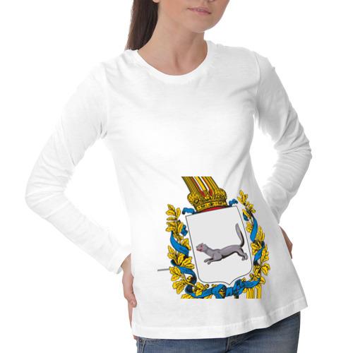 Лонгслив для беременных хлопок  Фото 01, Герб Башкортостана