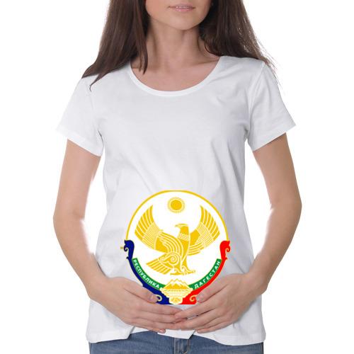 Футболка для беременных хлопок  Фото 01, Герб Дагестана