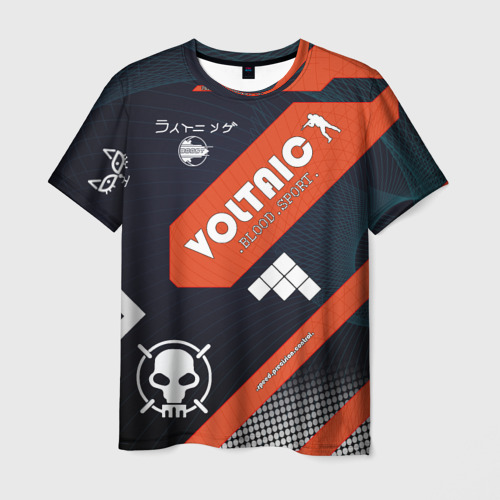 Мужская футболка 3D cs:go - .Blood.Sport.style.ak-47 (Кровавый спорт)