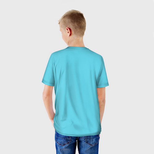 Детская футболка 3D  Фото 02, Кот