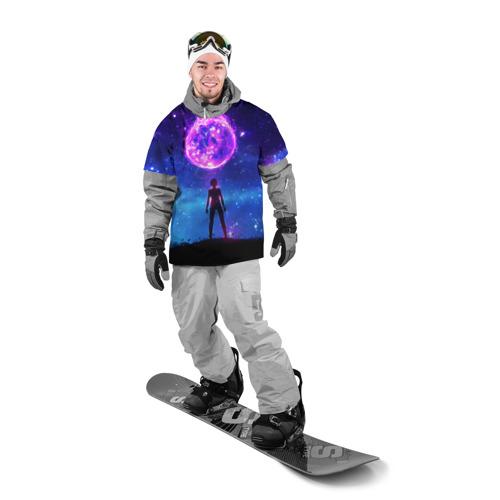 Накидка на куртку 3D  Фото 03, Космос