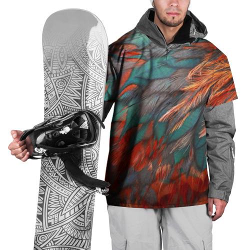 Накидка на куртку 3D  Фото 01, Перья