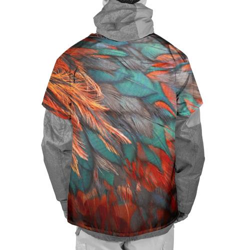 Накидка на куртку 3D  Фото 02, Перья