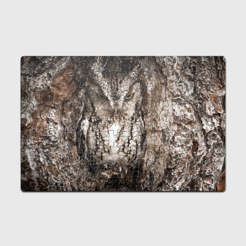 Пазл магнитный 126 элементов  Фото 01, Сова