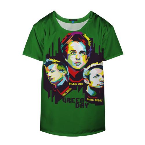 Накидка на куртку 3D  Фото 04, Green Day