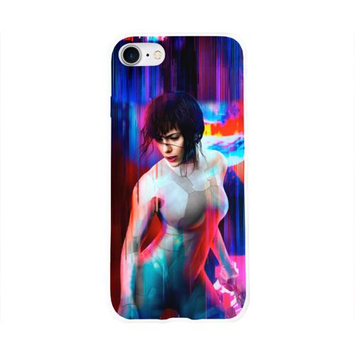 Чехол для Apple iPhone 8 силиконовый глянцевый  Фото 01, Ghost In The Shell 13