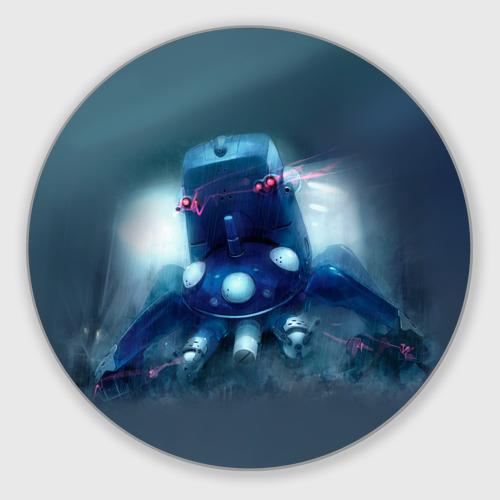 Коврик для мышки круглый  Фото 01, Ghost In The Shell 4
