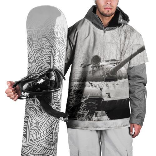 Накидка на куртку 3D  Фото 01, Танк т74