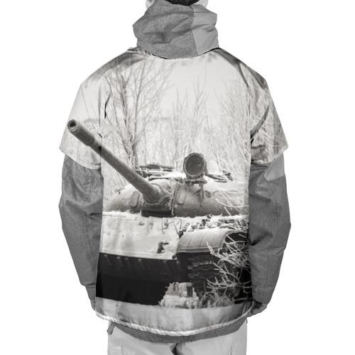 Накидка на куртку 3D  Фото 02, Танк т74