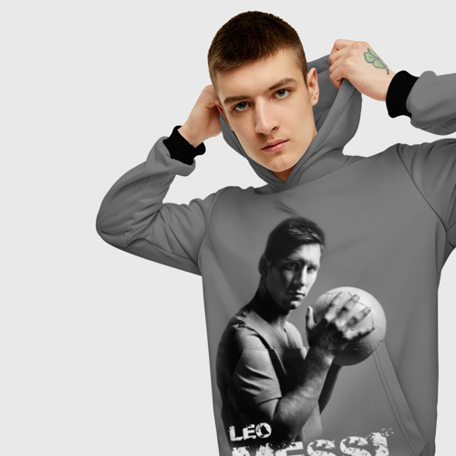 Мужская толстовка 3D Leo Messi