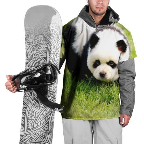 Накидка на куртку 3D  Фото 01, Пес панда