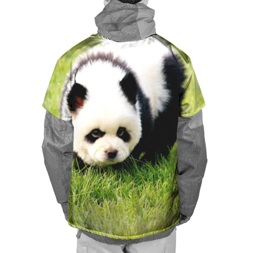 Накидка на куртку 3D  Фото 02, Пес панда