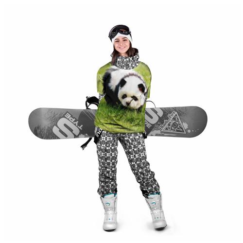 Накидка на куртку 3D  Фото 05, Пес панда