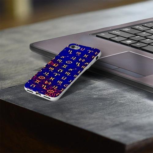 Чехол для Apple iPhone 8 силиконовый глянцевый  Фото 03, zodiac