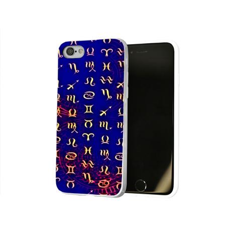 Чехол для Apple iPhone 8 силиконовый глянцевый  Фото 02, zodiac