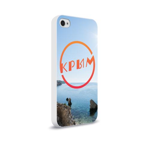 Чехол для Apple iPhone 4/4S soft-touch  Фото 02, Крым